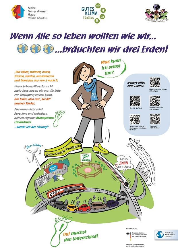 Test schule fußabdruck ökologischer Footprint